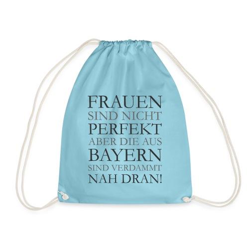 Frauen aus Bayern T-Shirt (Damen/Grau) - Turnbeutel