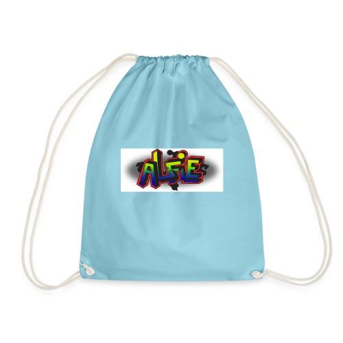 alfie Rainbow design - Drawstring Bag