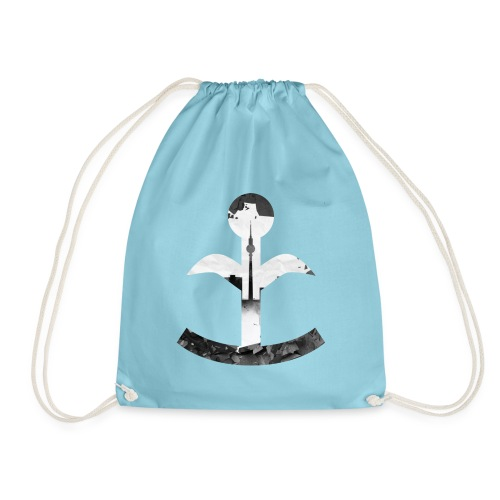 Special Edition TV Tower - 30 Years Fall of the Wall - Drawstring Bag