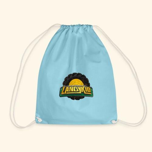 LandyKid Logo XL trans png - Drawstring Bag