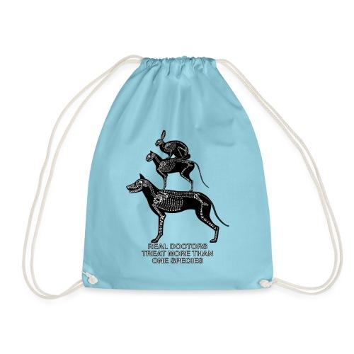 Real Doctors ... pets - Drawstring Bag