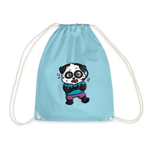 Noob Gamer Panda - Drawstring Bag
