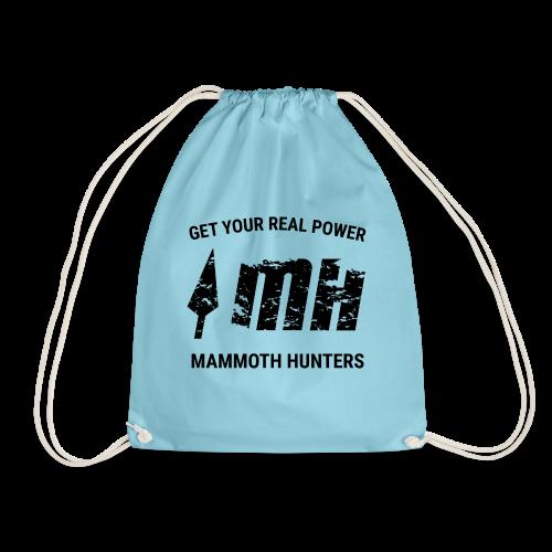Mammoth Hunters / Negro - Mochila saco