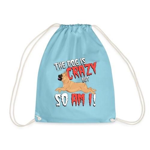 French Bulldog Crazy 6 - Drawstring Bag