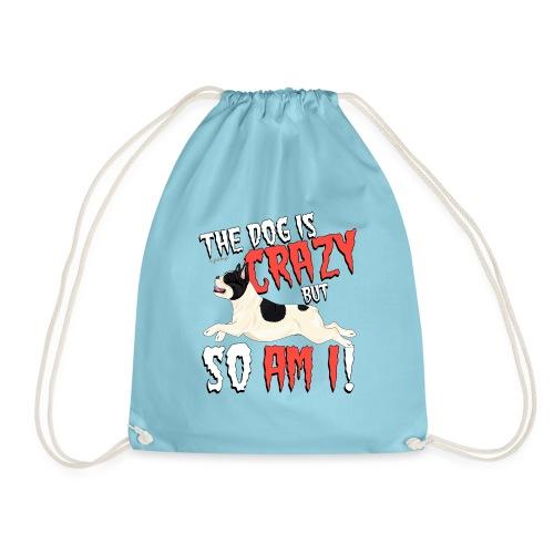 French Bulldog Crazy 3 - Drawstring Bag
