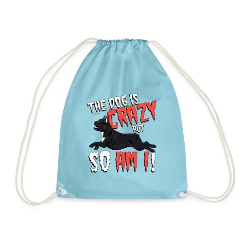 French Bulldog Crazy - Drawstring Bag