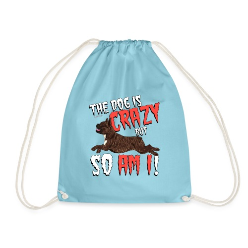 frenchiecrazy2 - Drawstring Bag