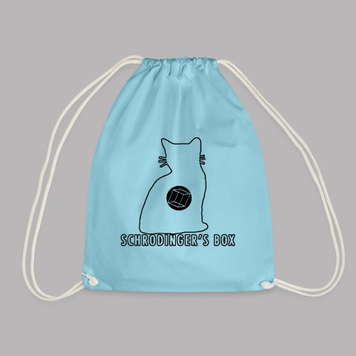 Schrodinger's Box - Drawstring Bag