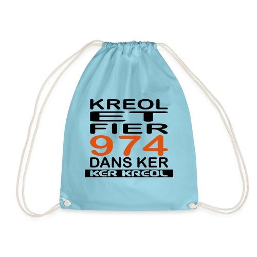 974 ker kreol - Kreole et Fier - Sac de sport léger