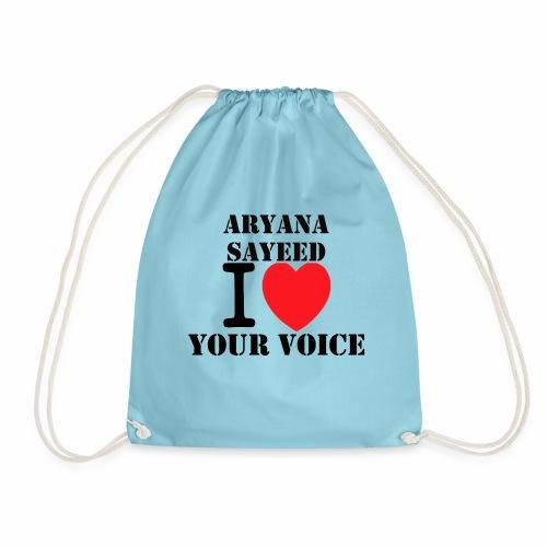 Aryana Sayeed fan - Turnbeutel