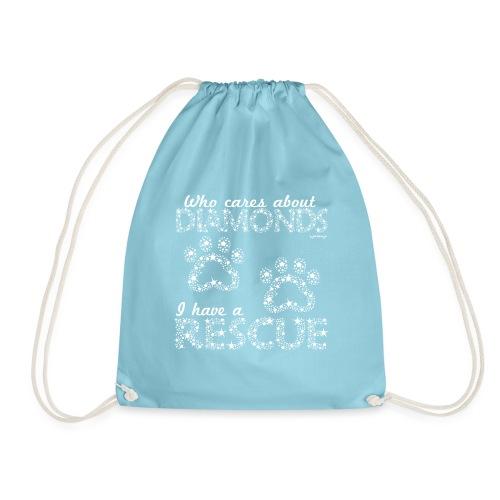 Diamond Rescue - Drawstring Bag