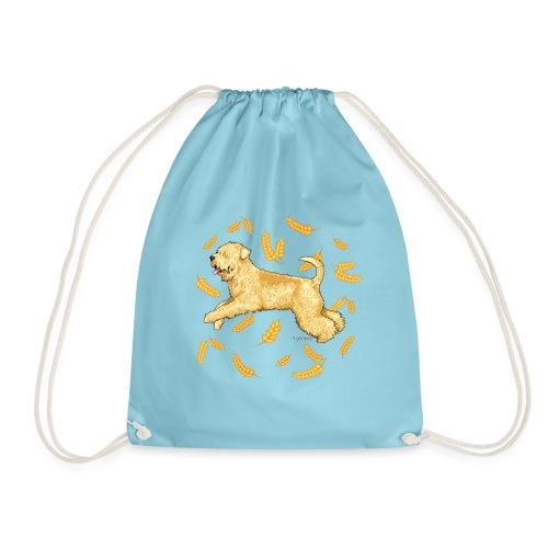 Wheat Wheaten Terrier 2 - Drawstring Bag