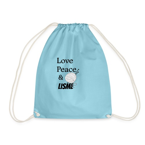 Love Peace & Lisme - Turnbeutel