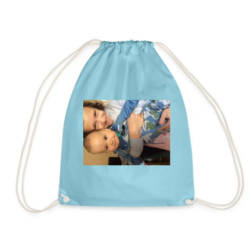 Lara and fox - Drawstring Bag