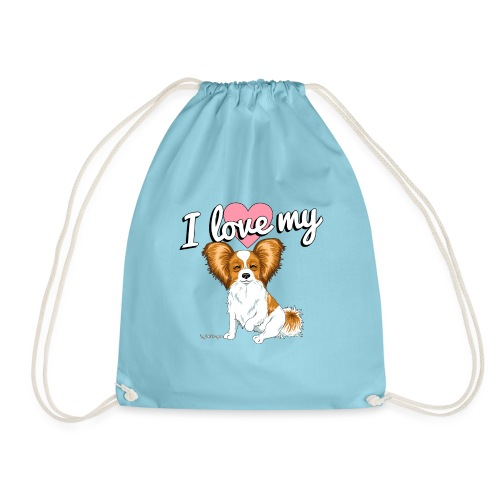 papilove3 - Drawstring Bag