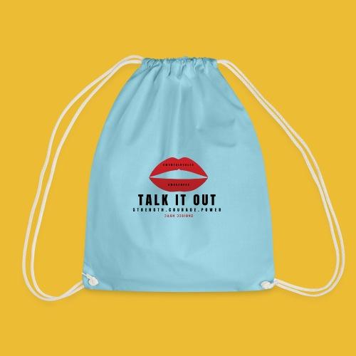 Mental Health Awareness (Talk It Out) - Drawstring Bag