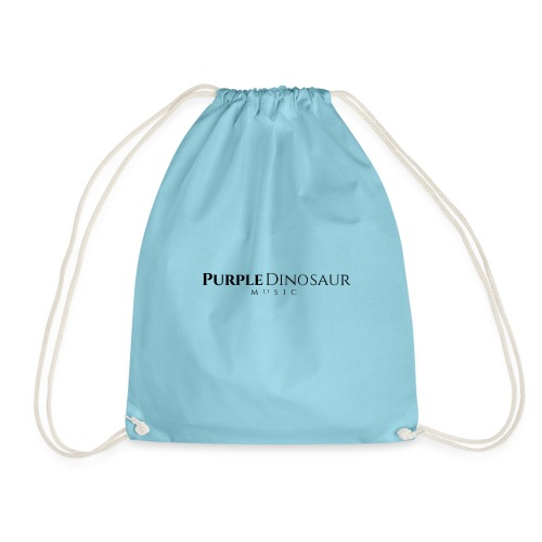 PDM Written Logo (Black) - Drawstring Bag