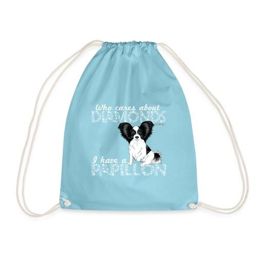papillondiamonds3 - Drawstring Bag