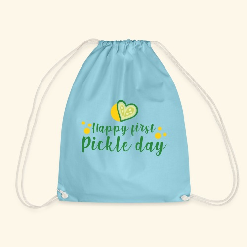 happy pickle day - Mochila saco