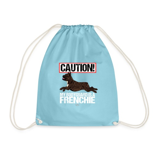 frenchbodyguard2 - Drawstring Bag