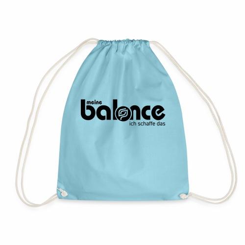 Meine Balance 1-farbig - Turnbeutel