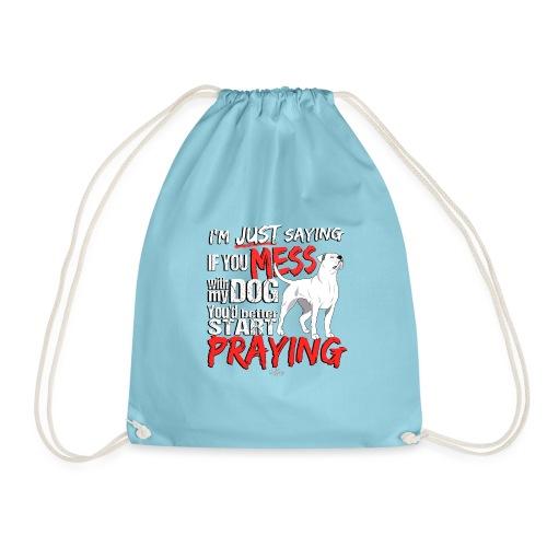 ambpraying - Drawstring Bag