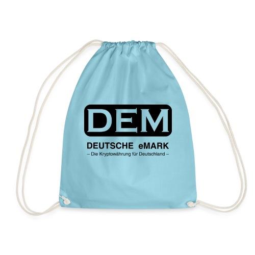 DEM - Deutsche eMark - Turnbeutel