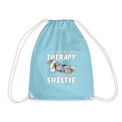 sheltietherapy4 - Drawstring Bag