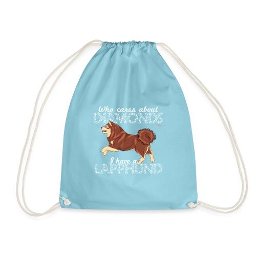lapphunddiamond4 - Drawstring Bag