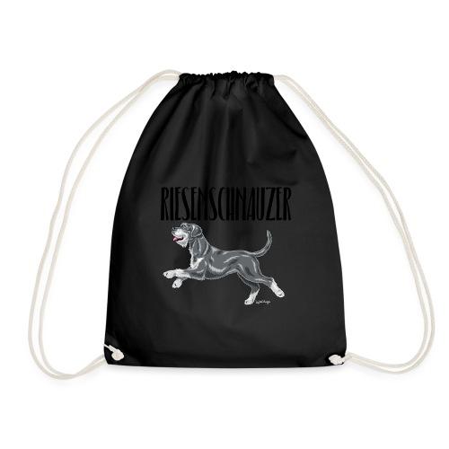 Riesenschnauzer 01 - Drawstring Bag