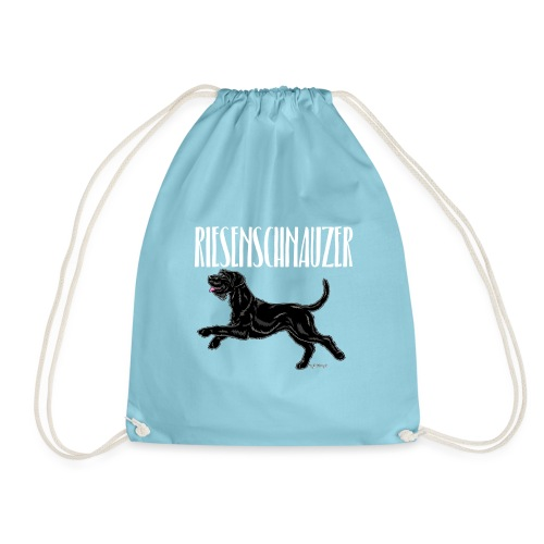 Riesenschnauzer 03 - Drawstring Bag