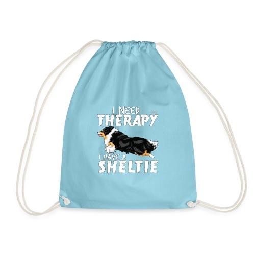 sheltietherapy2 - Drawstring Bag