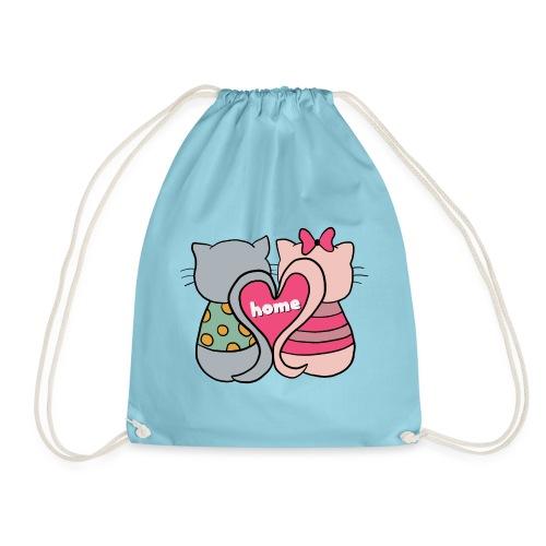 Cats - Drawstring Bag