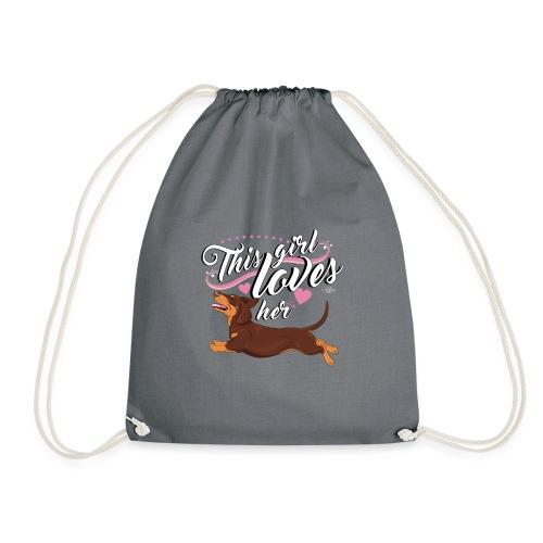 doxgirl2 - Drawstring Bag