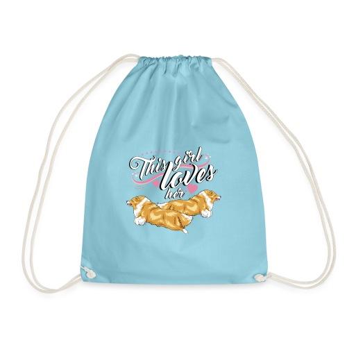 sheltiesgirl2 - Drawstring Bag