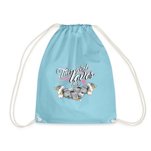 sheltiesgirl4 - Drawstring Bag