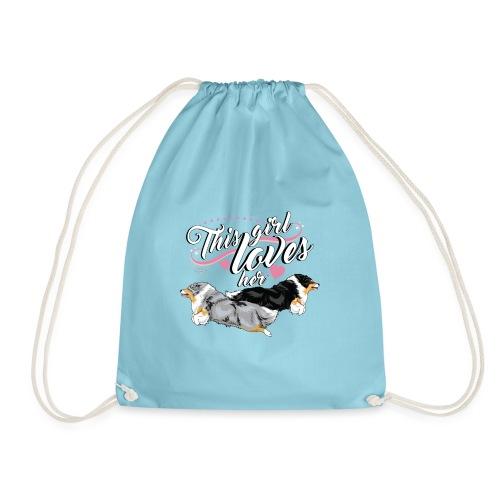 sheltiesgirl5 - Drawstring Bag