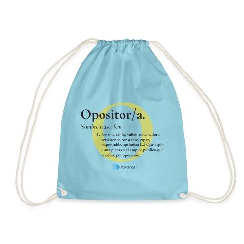 Definición de Opositor/a - Mochila saco