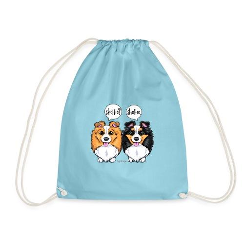 Sheltie Sheltie - Drawstring Bag