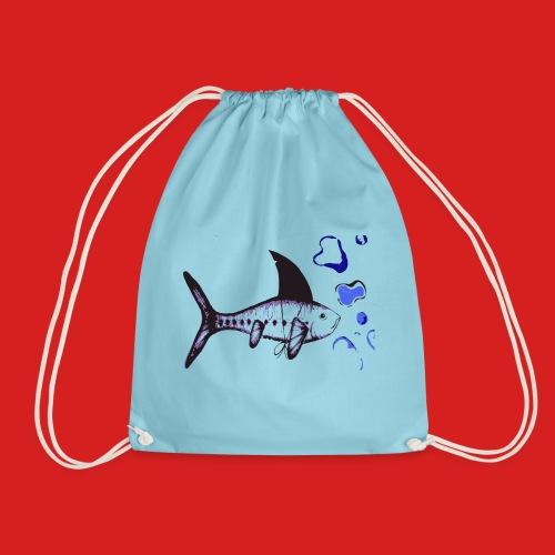 Hai-Fisch - Turnbeutel
