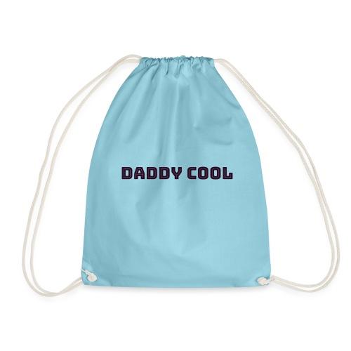 Vatertagsgeschenk mit Papa coolen Druck - Turnbeutel