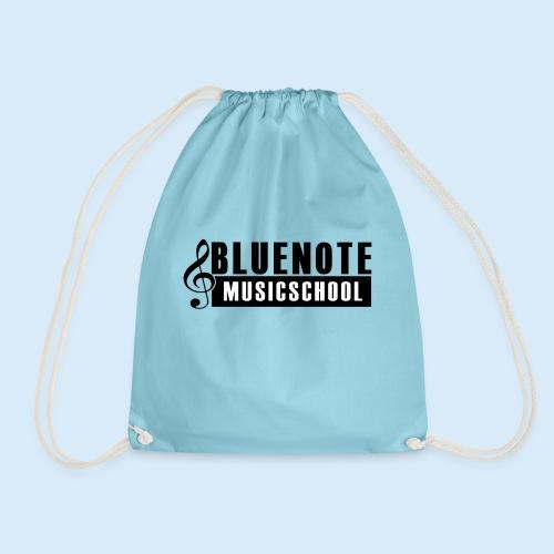 Bluenote Musicschool Logo Schwarz/Weiss - Turnbeutel