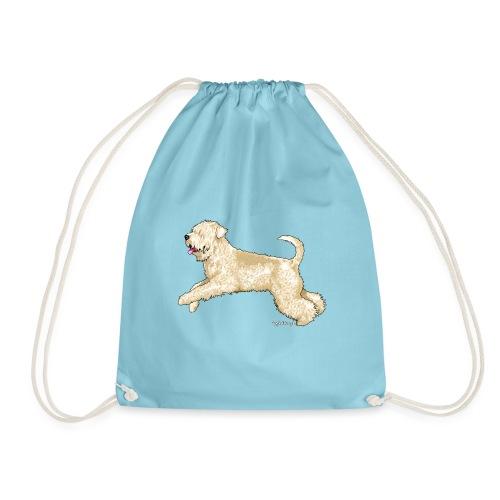 Soft Coated wheaten Terrier - Drawstring Bag