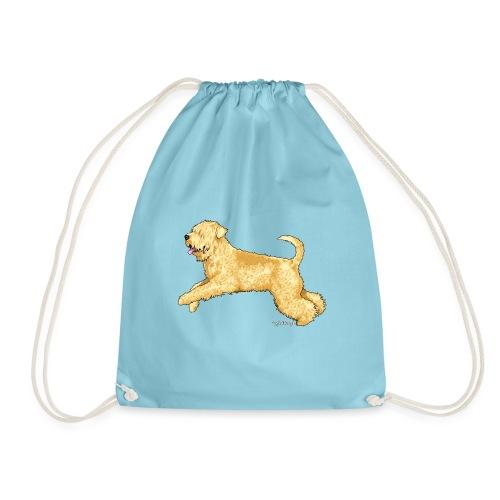 Wheaten Terrier 2 - Drawstring Bag