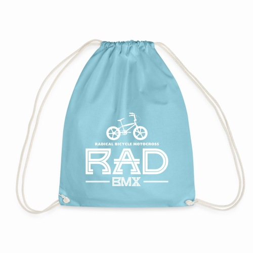 BMX Rad Radical Bicycle Motocross 80's Bmx Bike - Drawstring Bag