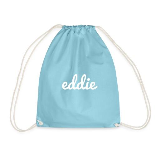 eddie signature line white - Turnbeutel