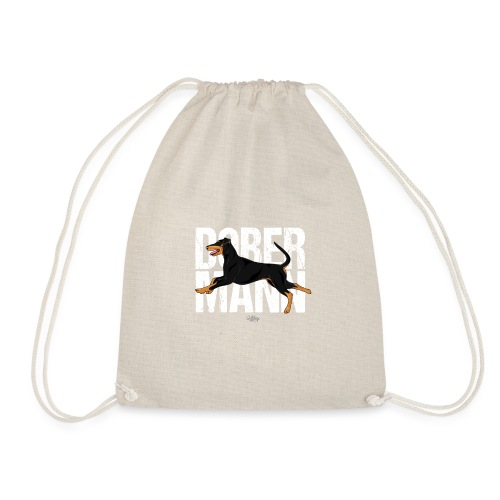 dobermann2 - Drawstring Bag