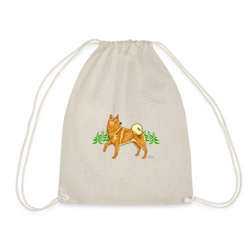 Suomenpystykorva Metsä - Drawstring Bag