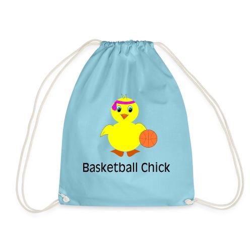 Basketball Chick - Turnbeutel