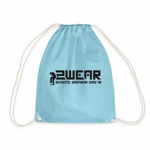 2wear org scrab logo wt √ - Sportstaske